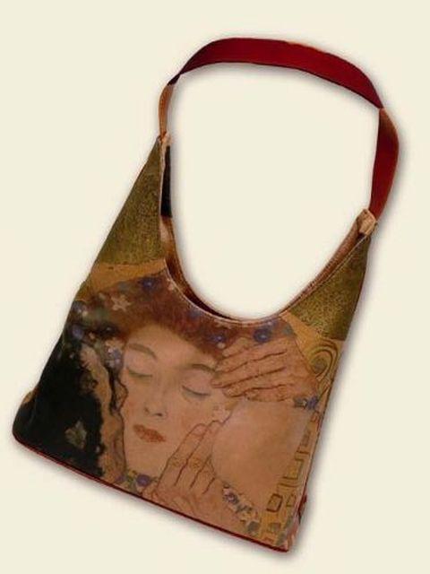 """...кожа картина :  """"Поцелуй """", Густав Климт производитель: Италия."""