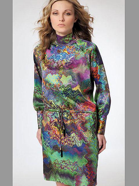 Фото платья из шелка